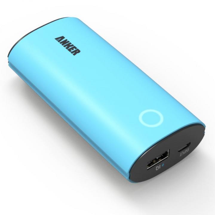 [6400mAh]Anker Astro 第2世代 モバイルバッテリー ブルー