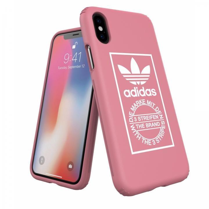 iPhone XS/X ケース adidas Originals TPU/ハードケース Ash Pink iPhone XS/X_0