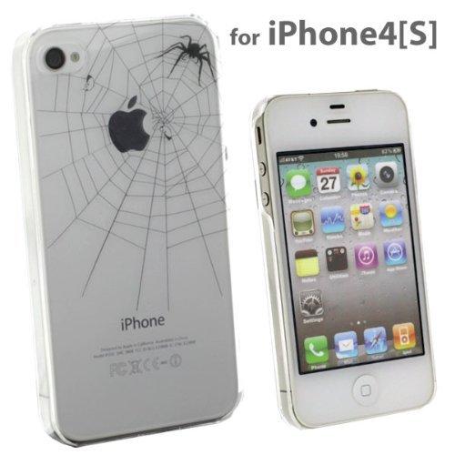 iPhone4s/4ケース Applusアップラスハードクリアケース(ブラック/とらわれの実)_0