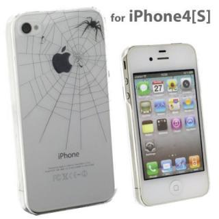 その他のiPhone/iPod ケース iPhone4s/4ケース Applusアップラスハードクリアケース(ブラック/とらわれの実)