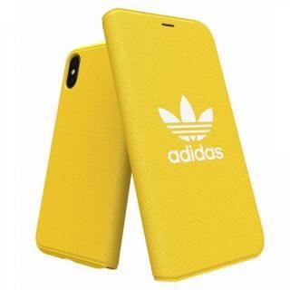 adidas Originals Adicol 手帳型ケース iPhone XS/X イエロー