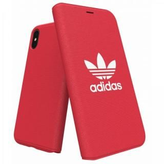 adidas Originals Adicol 手帳型ケース iPhone X レッド