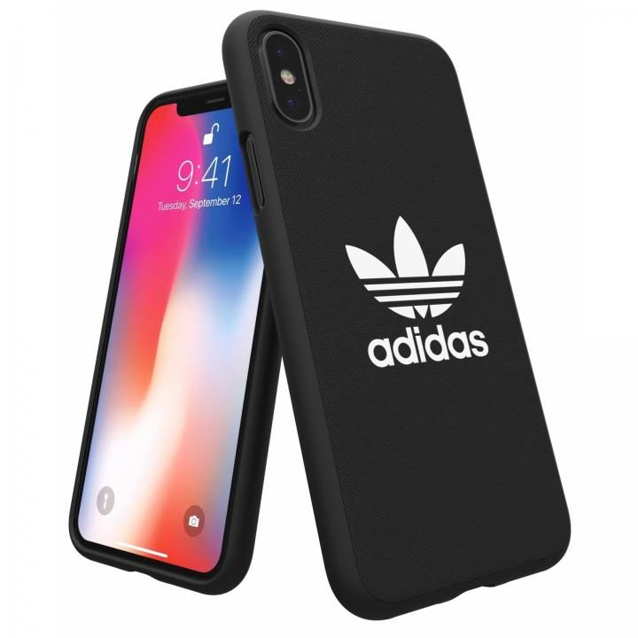 iPhone XS/X ケース adidas Originals Adicol ケース iPhone XS/X ブラック_0