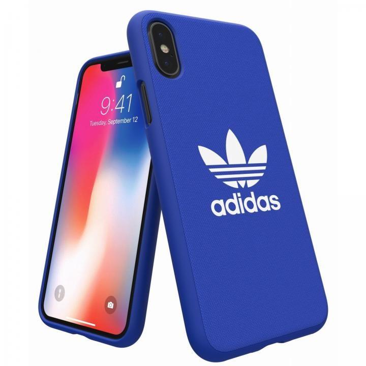 iPhone XS/X ケース adidas Originals Adicol ケース iPhone XS/X ブルー_0