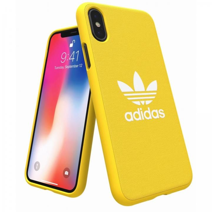 iPhone XS/X ケース adidas Originals Adicol ケース iPhone XS/X イエロー_0