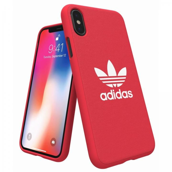 iPhone XS/X ケース adidas Originals Adicol ケース iPhone XS/X レッド_0