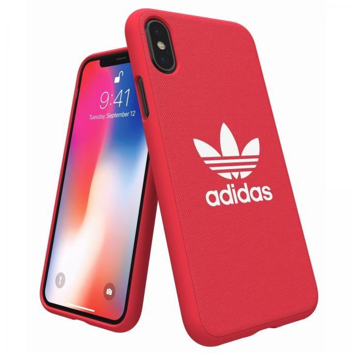iPhone XS/X ケース adidas Originals Adicol ケース iPhone XS/X レッド_0