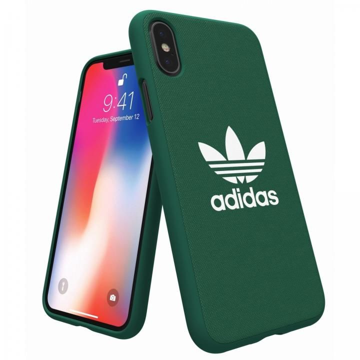 【iPhone XS/Xケース】adidas Originals Adicol ケース iPhone XS/X グリーン_0