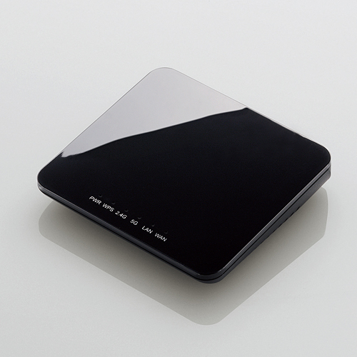 無線LANルータ/ホテル用/300Mbps/5.0GHz対応/ブラック_0