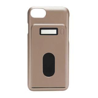 [AppBank先行]miruca evolution 電子マネー残高表示機能搭載ケース ゴールド iPhone 7/6s/6【3月上旬】