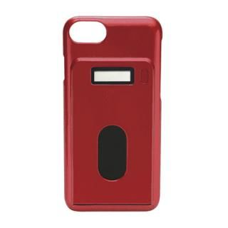 miruca evolution 電子マネー残高表示機能搭載ケース レッド iPhone 7/6s/6