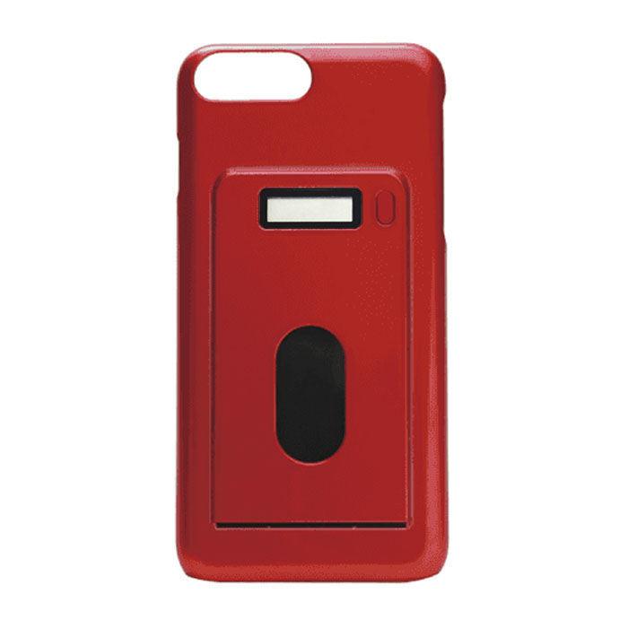 iPhone7 Plus/6s Plus ケース miruca evolution 電子マネー残高表示機能搭載ケース レッド iPhone 7 Plus/6s Plus/6 Plus_0