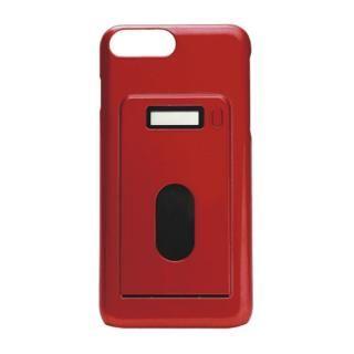 miruca evolution 電子マネー残高表示機能搭載ケース レッド iPhone 7 Plus/6s Plus/6 Plus