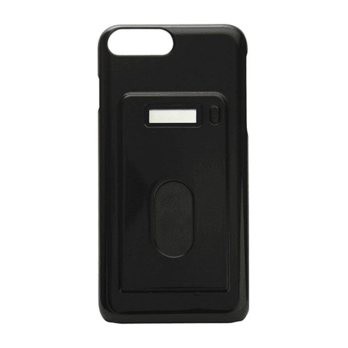 miruca evolution 電子マネー残高表示機能搭載ケース ブラック iPhone 7 Plus/6s Plus/6 Plus