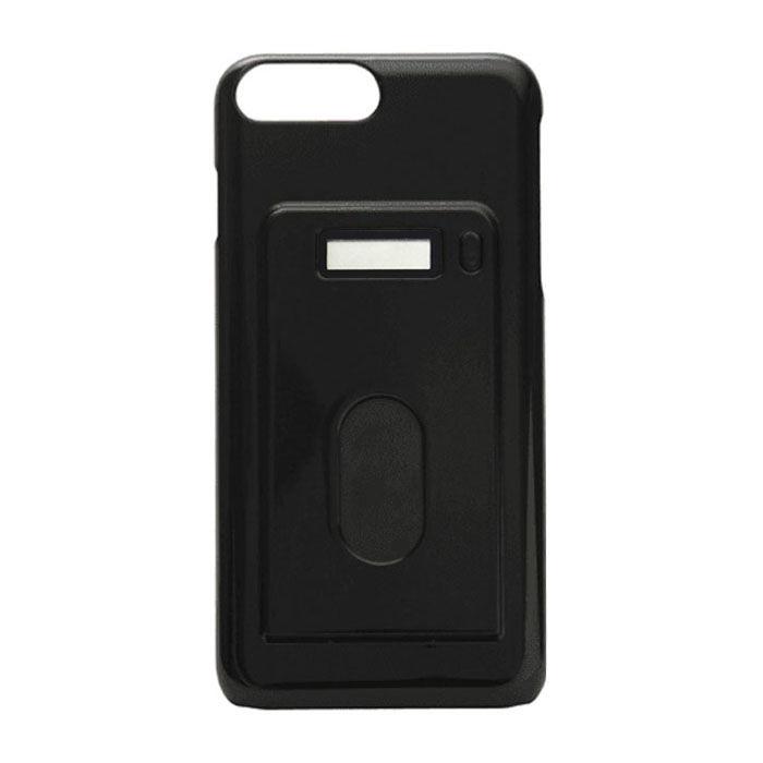【iPhone7 Plus/6s Plusケース】miruca evolution 電子マネー残高表示機能搭載ケース ブラック iPhone 7 Plus/6s Plus/6 Plus_0