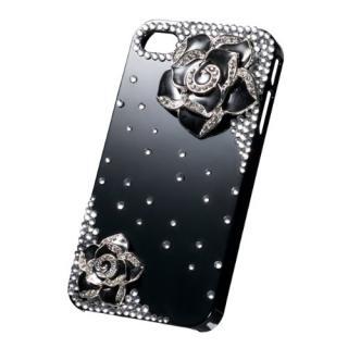 その他のiPhone/iPod ケース kirake ローズブラックB  iPhone4/4s ケース