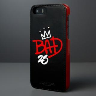 iPhone SE/5s/5 Michael Jackson BAD 25th Graffiti Bar ブラック