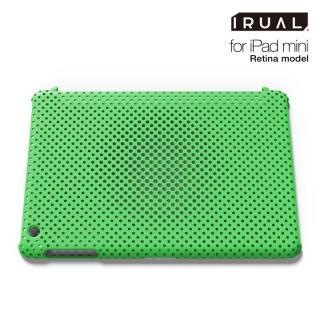 メッシュシェルケース  MAT GREEN(グリーン) iPad mini/2/3ケース