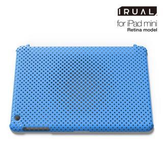メッシュシェルケース  MAT BLUE(ブルー) iPad mini/2/3ケース
