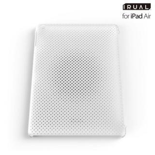 メッシュシェルケース iPad Air MAT CLEAR(クリア)