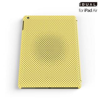 メッシュシェルケース iPad Air MAT YELLOW(イエロー)