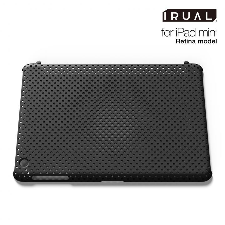メッシュシェルケース  MAT BLACK(ブラック) iPad mini/2/3ケース_0