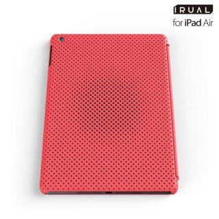 メッシュシェルケース iPad Air MAT PINK(ピンク)
