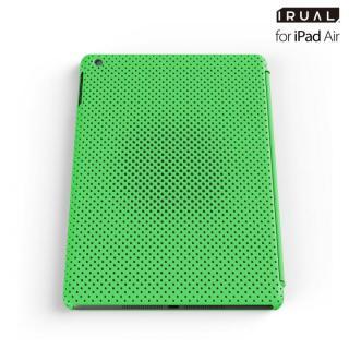 メッシュシェルケース iPad Air MAT GREEN(グリーン)