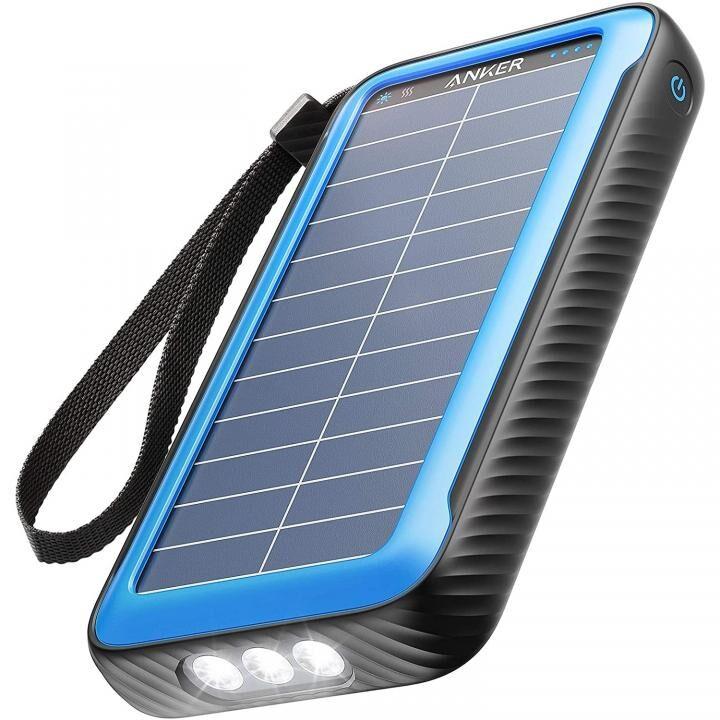 Anker PowerCore Solar 20000 モバイルバッテリー ソーラー発電 ブラック【3月上旬】_0