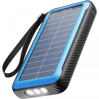 Anker PowerCore Solar 20000 モバイルバッテリー ソーラー発電 ブラック【3月上旬】