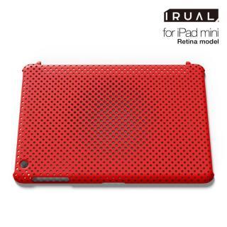 メッシュシェルケース  MAT RED(レッド) iPad mini/2/3ケース