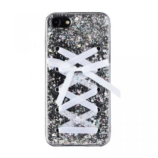 Gizmobies + SELECT LACE UP 背面ケース ホワイト iPhone 8/7
