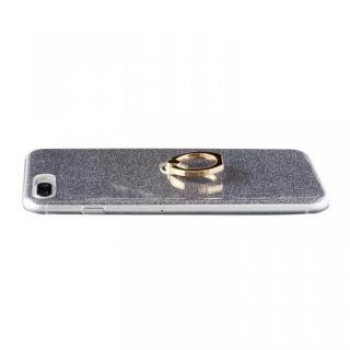 【iPhone8 Plus/7 Plusケース】Gizmobies + SELECT GLITTER リング付き背面ケースブラック iPhone 8 Plus/7 Plus_2