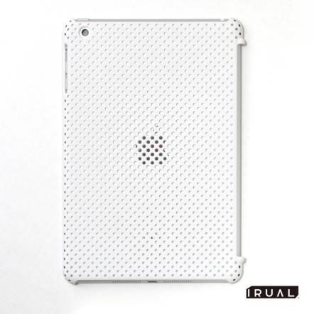 MESH SHELL CASE  iPad mini/2/3 Mat White