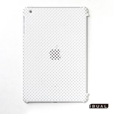 MESH SHELL CASE  iPad mini/2/3 Mat White