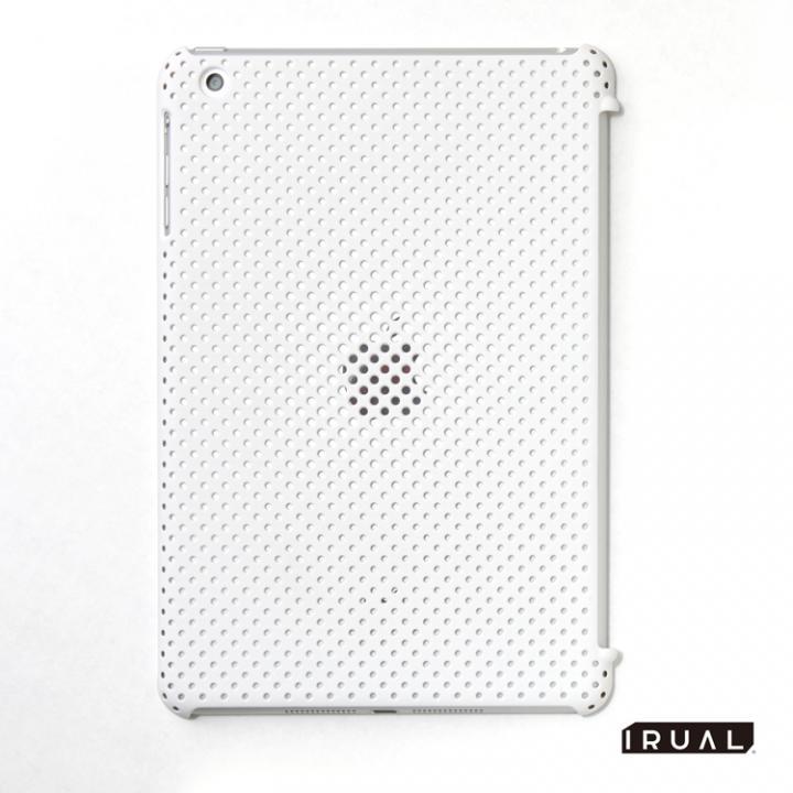 MESH SHELL CASE  iPad mini/2/3 Mat White_0