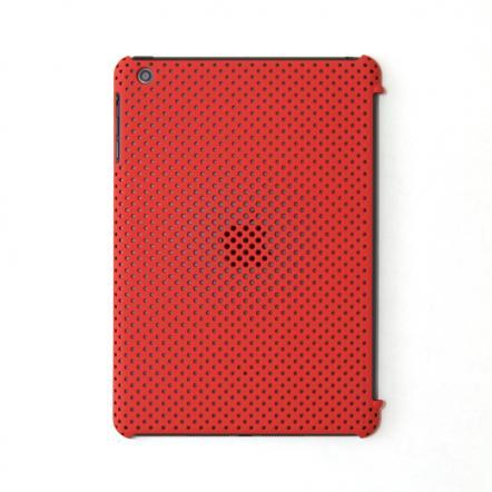 MESH SHELL CASE  iPad mini/2/3 Mat Red