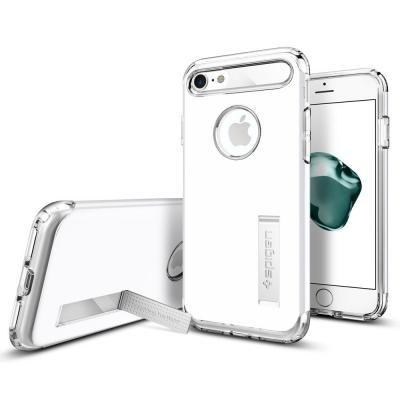 【iPhone8/7ケース】Spigen スリムアーマーケース ジェットホワイト iPhone 8/7_0