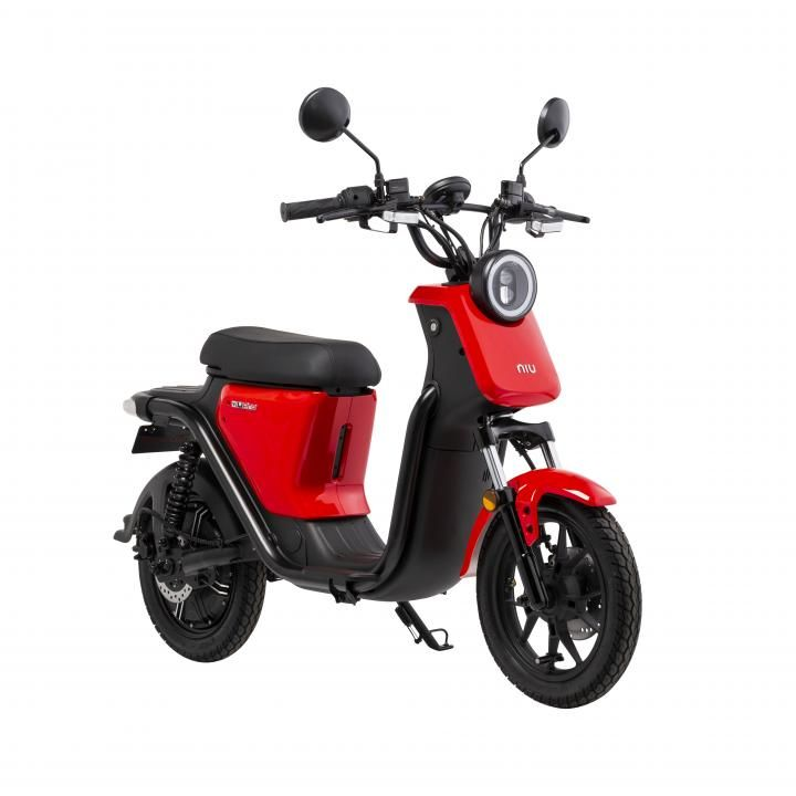 [配送料+ナンバー登録料パック]XEAM EVバイク「niu U(ニウ ユー)」 レッド_0