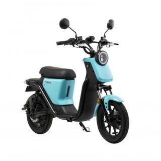 [配送料+ナンバー登録料パック]XEAM EVバイク「niu U(ニウ ユー)」 ライトブルー