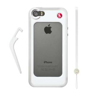 【iPhone SE/5s/5ケース】iPhone 5/5sケース KLYP+ バンパーホワイト