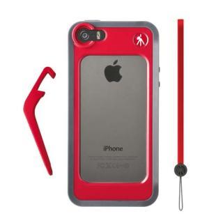 【iPhone SE/5s/5ケース】iPhone 5/5sケース KLYP+ バンパーレッド