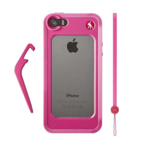 iPhone SE/5s/5 ケース iPhone 5/5sケース KLYP+ バンパーピンク_0