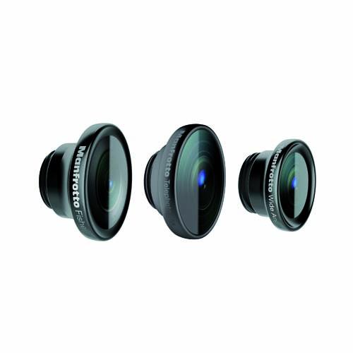 KLYP+バンパー専用 iPhone用レンズ3枚セット_0