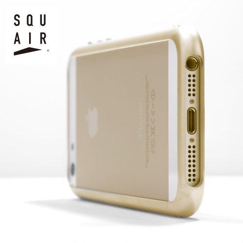 超々ジュラルミンA7075 iPhone 5/5s カーヴィシャスバンパーケース ゴールド 送料無料