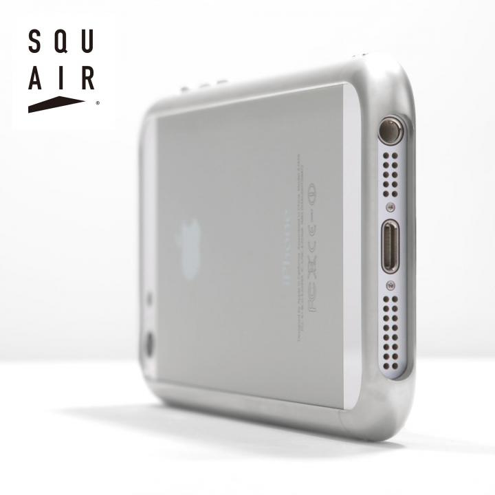 超々ジュラルミンA7075 iPhone 5/5s カーヴィシャスバンパーケース ホワイト 送料無料