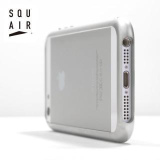 金属とは思えない触り心地 SQUAIR Curvacious Bumper  iPhone SE/5s/5バンパー ホワイト