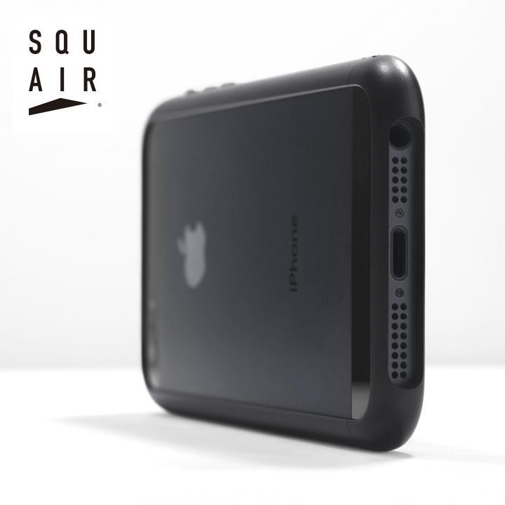 iPhone SE/5s/5 ケース SQUAIR Curvacious Bumper iPhone SE/5s/5バンパー ブラック_0