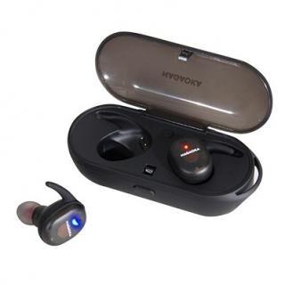 ナガオカ Bluetooth5.0対応 スケルトン完全ワイヤレスイヤホン ブラック【3月上旬】