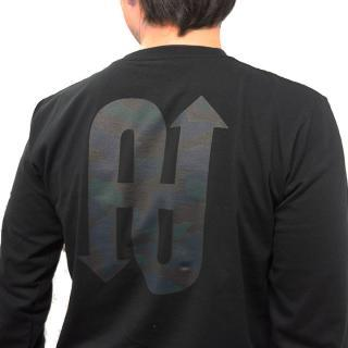 UPBK ロングTシャツ ブラック Lサイズ_1